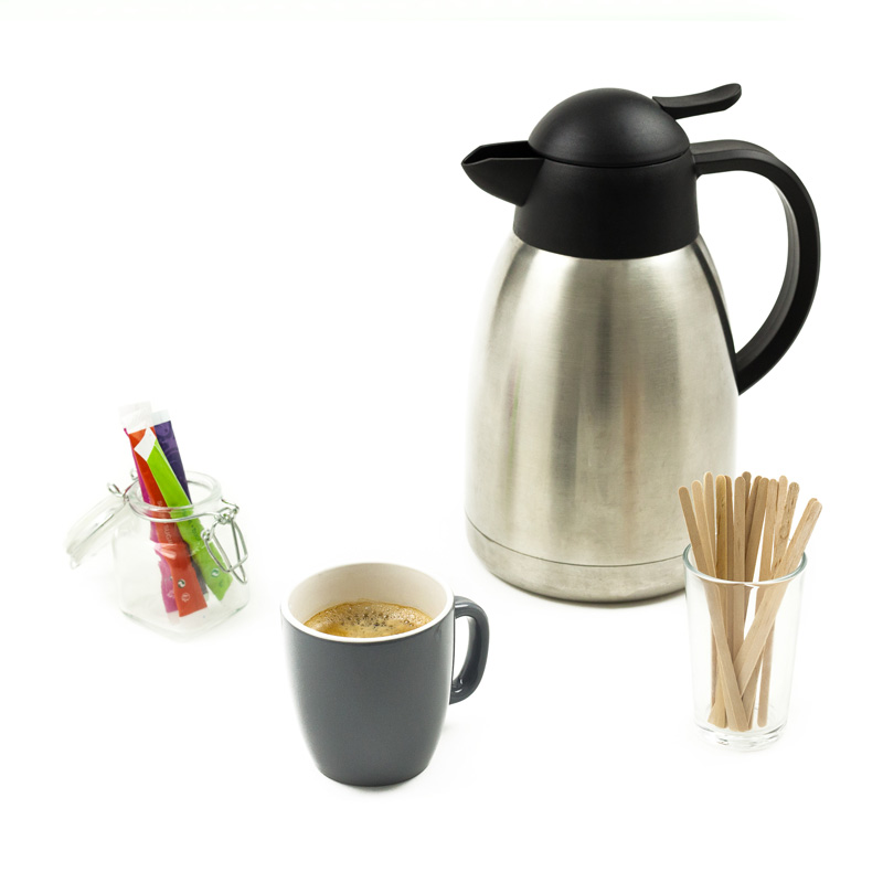 Caf en thermos 6 8 personnes mr matin - Thermos a cafe ...