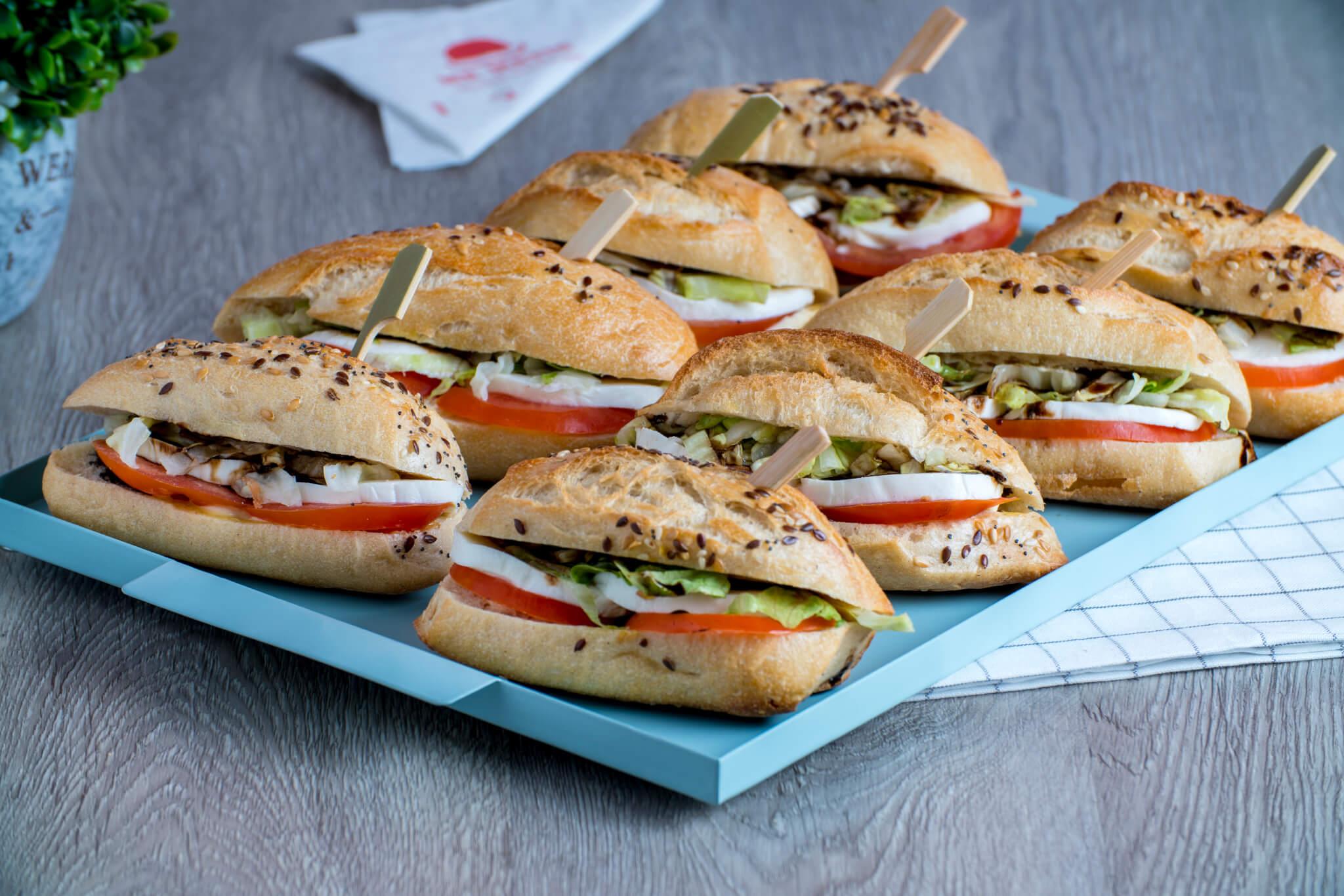 Plateau sandwich végé
