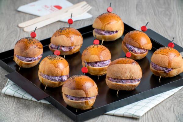 burger-choux rouge